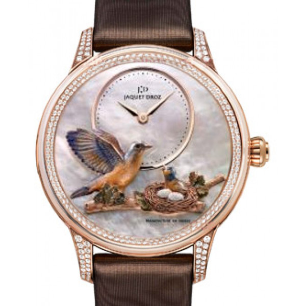 Jaquet Droz Sculpted and Engraved Ornamentation Limited Edition 8