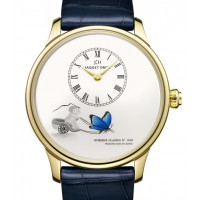 Jaquet Droz Petite Heure Minute Loving Butterfly 2013