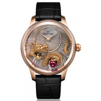 Jaquet Droz Sculpted and Engraved Ornamentation Limited Edition 88