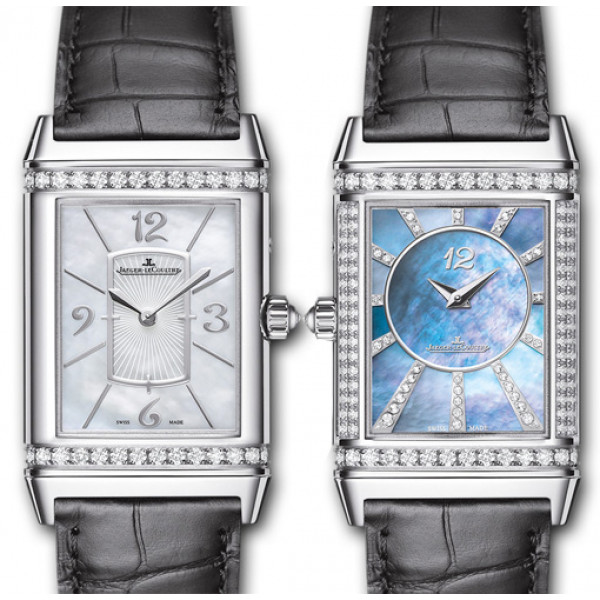 Jaeger LeCoultre Grande Reverso Lady Ultra Thin Duetto Duo White Gold 2013