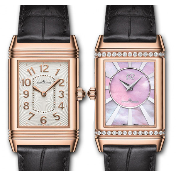 Jaeger LeCoultre Grande Reverso Lady Ultra Thin Duetto Duo Pink Gold 2013