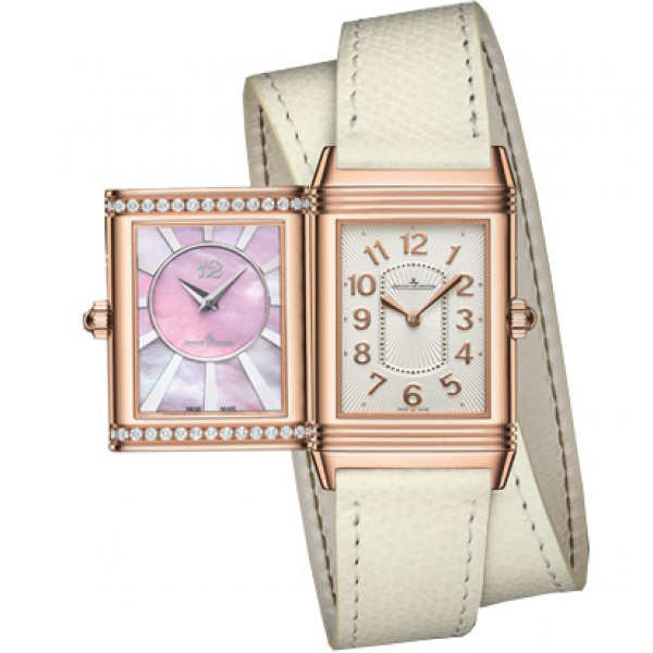 Jaeger LeCoultre Grande Reverso Lady Ultra Thin Duetto Duo  Pink Gold E-boutique 2013