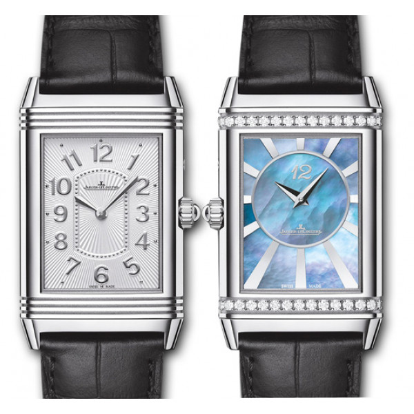Jaeger LeCoultre Grande Reverso Lady Ultra Thin Duetto Duo Steel 2013