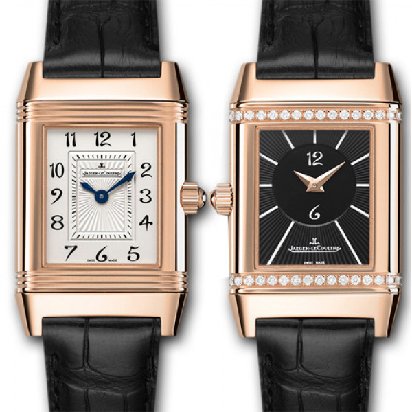 Jaeger LeCoultre Reverso Duetto Pink Gold 2013