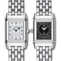 Jaeger LeCoultre Reverso Duetto Stainless Steel 2013