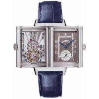Jaeger LeCoultre   Reverso Number One and Two (Platinum / Gray / Leather)
