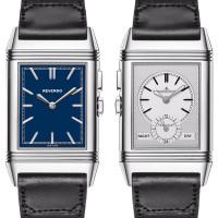 Jaeger LeCoultre Grande Reverso Ultra Thin Duoface Bleu Boutique Edition 2013