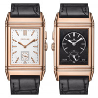 Jaeger LeCoultre Grande Reverso Ultra Thin Duoface Pink Gold 2013