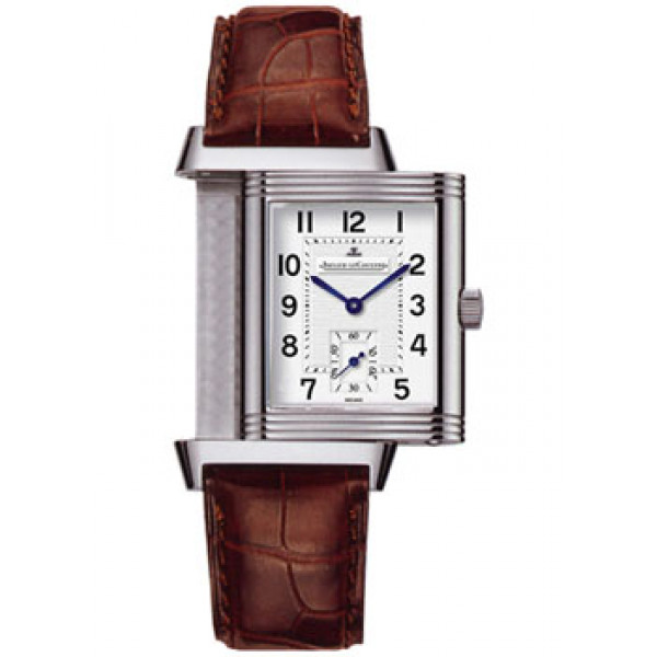 Jaeger LeCoultre   Reverso Grande Taille (Steel / Silver / Leather)