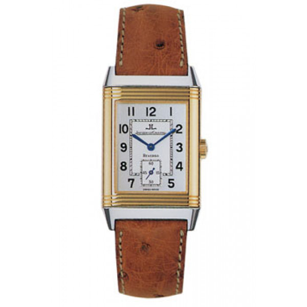 Jaeger LeCoultre   Reverso Grande Taille (SS-YG / Silver / Leather)