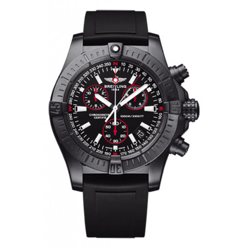 Breitling watches Avenger Seawolf Chrono Blacksteel  Limited Edition