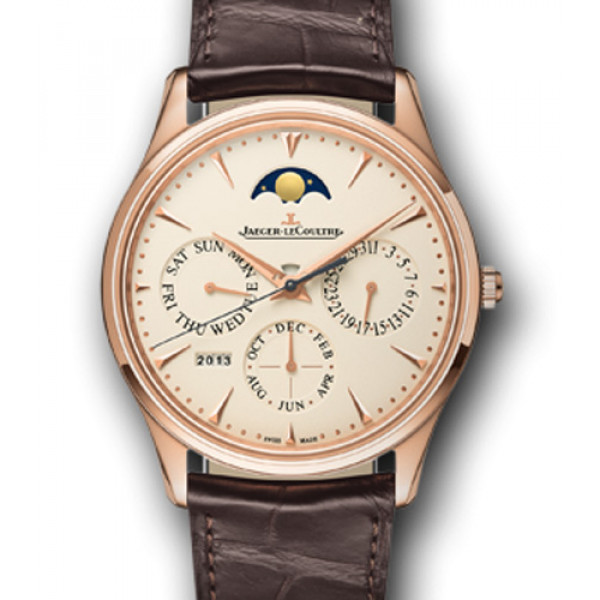 Jaeger LeCoultre Master Ultra Thin Perpetual Pink Gold 2013