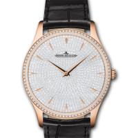 Jaeger LeCoultre Master Grande Ultra Thin Pink Gold Diamond 2013