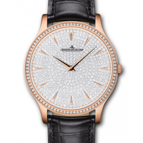 Jaeger LeCoultre Master Grande Ultra Thin Pink Gold Diamond Lady 2013