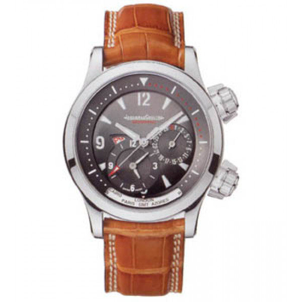 Jaeger LeCoultre   Master Compressor Geographic (WG / Grey / Leather)