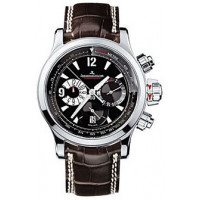 Jaeger LeCoultre  Master Compressor Chronograph (SS / Black / Leather)