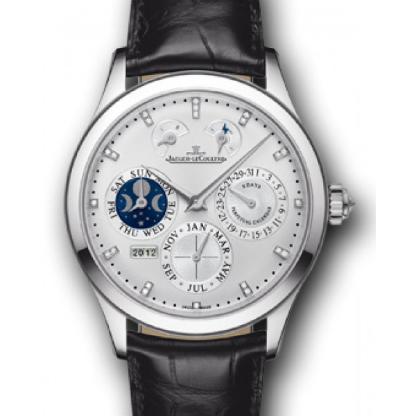 Jaeger LeCoultre Master Eight Days Perpetual 40 White Gold 2013