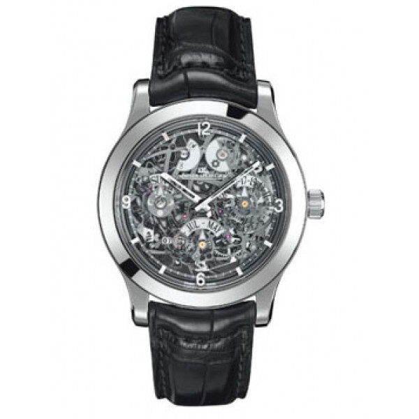Jaeger LeCoultre Master Eight Days Perpetual Skeleton