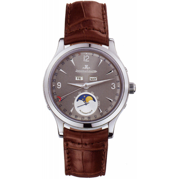 Jaeger LeCoultre   Master Moon (WG / Grey / Leather)