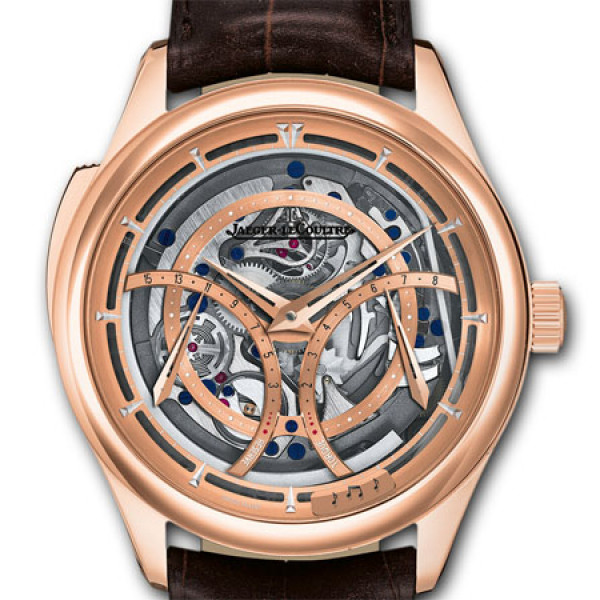 Jaeger LeCoultre Master Grande Tradition Minute Repeater Rose Gold