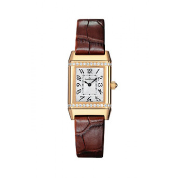 Jaeger LeCoultre   Reverso Lady Jewellery (YG-Diamonds / Silver / Leather)