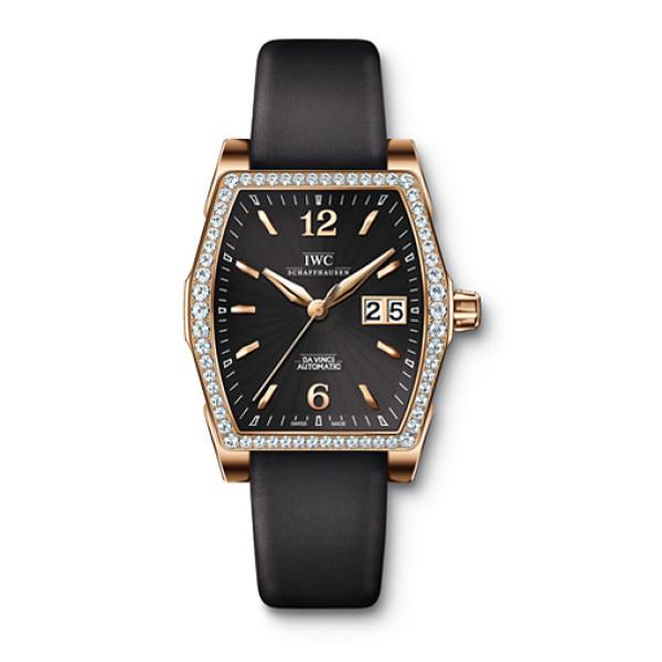 IWC Da Vinci Automatic (RG-Diamonds / Black)