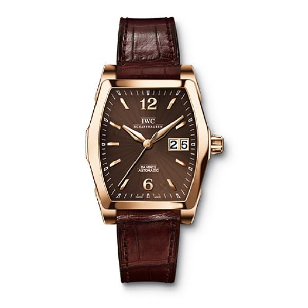IWC Da Vinci Automatic (RG / Brown / Leather)