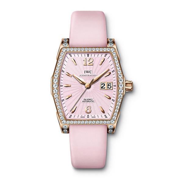 IWC Da Vinci Automatic (RG-Diamonds / Pink)