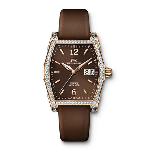 IWC Da Vinci Automatic (RG-Diamonds / Brown)