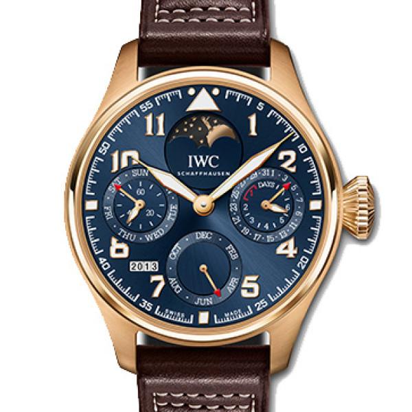 IWC Big Pilot's Watch Perpetual Calendar Edition Le Petit Prince 2013