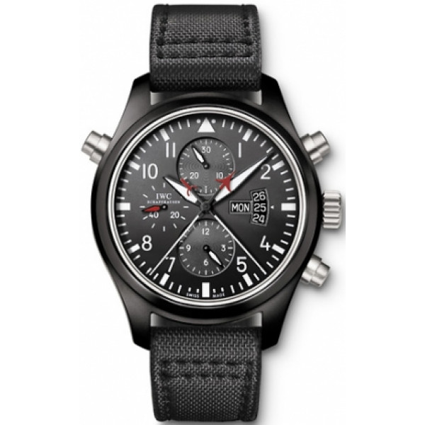 IWC Pilots Double Chronograph Edition Top Gun (Ceramic)