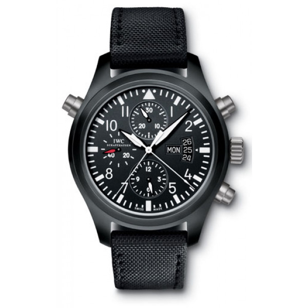 IWC Pilot's Double Chronograph Limited (Ceramic)