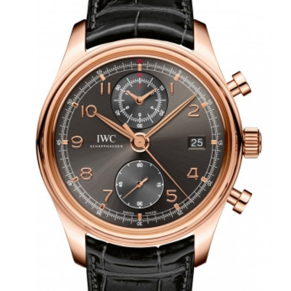 IWC Portuguese Chronograph Classic 18kt Rose Gold 2013