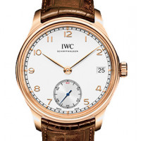IWC Portuguese Hand-Wound Eight Days Rose Gold 2013