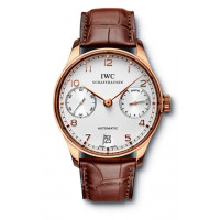 IWC Portuguese Automatic (RG / White / Leather)