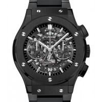 Hublot Classic Fusion Aero Chronograph Black Magic Bracelet 45mm