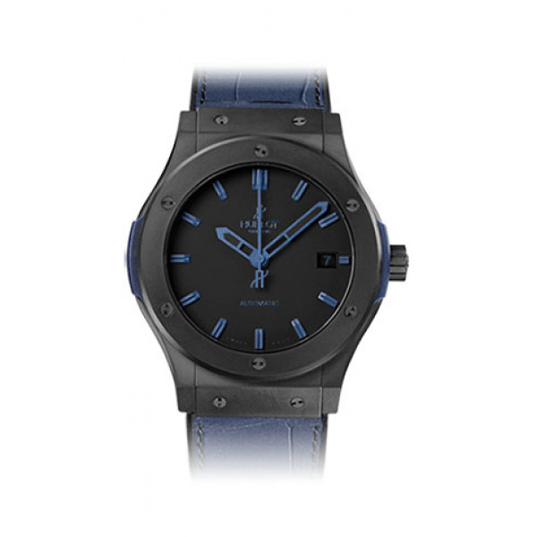 Hublot Classic Fusion All Black Blue 45mm