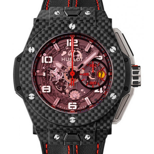 Hublot Ferrari Carbon Red Magic 45mm Limited Edition 1000