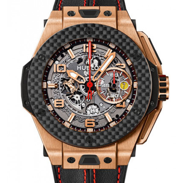 Hublot Ferrari King Gold Carbon 45mm Limited Edition 500