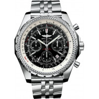 Breitling watches Bentley Motors Steel Black Dial