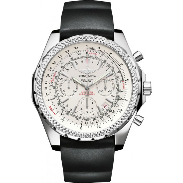 Breitling watches Bentley Motors Silver Dial