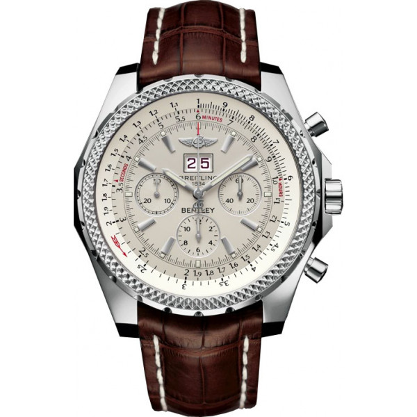 Breitling watches Bentley 6.75 Silver Dial