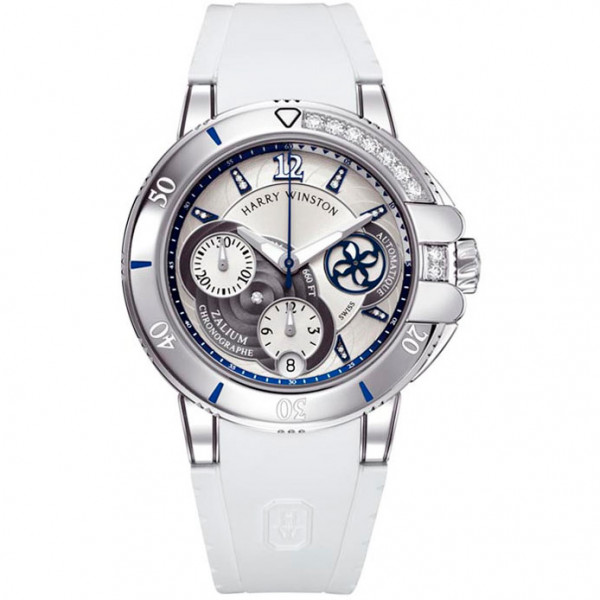 Harry Winston Ocean Sport Ladies Chronograph