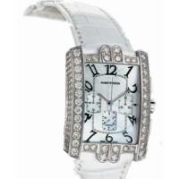 Harry Winston Avenue C Chrono (WG_Diamonds / MOP / Leather)