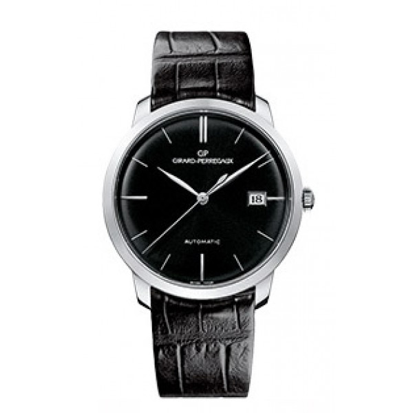 Girard Perregaux Classique Elegance 1966 (WG / Black / Leather)