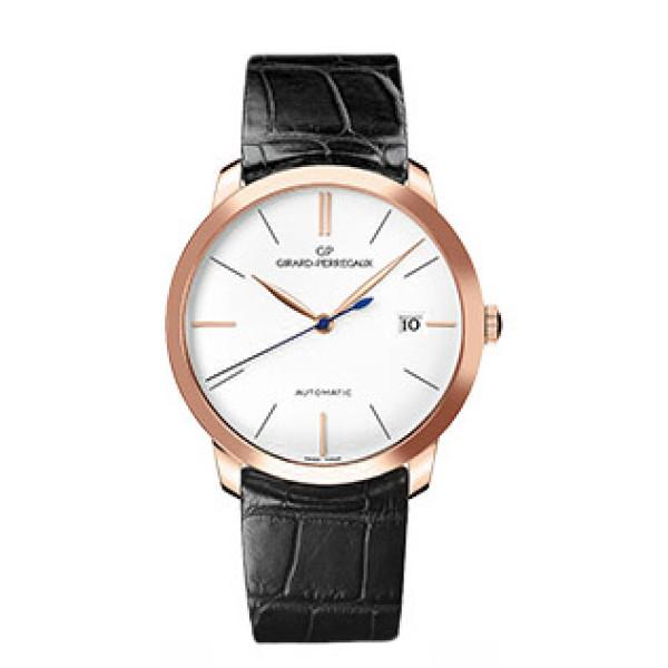 Girard Perregaux Classique Elegance 1966 (RG / White / Leather)