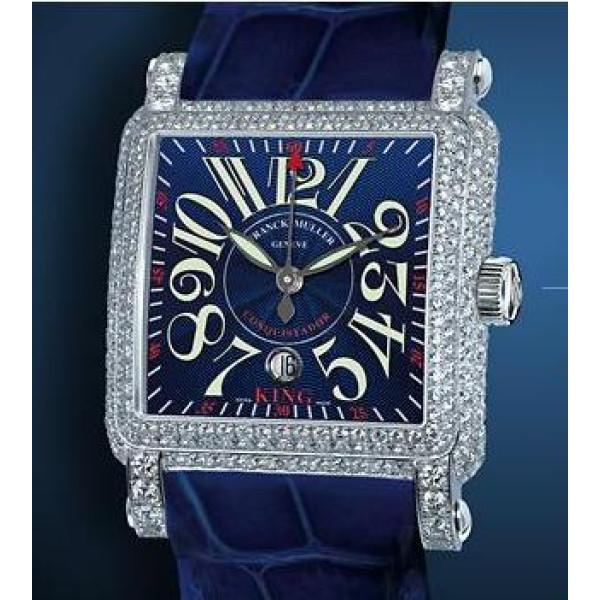 Franck Muller King Conquistador Cortez Center Second Diamond