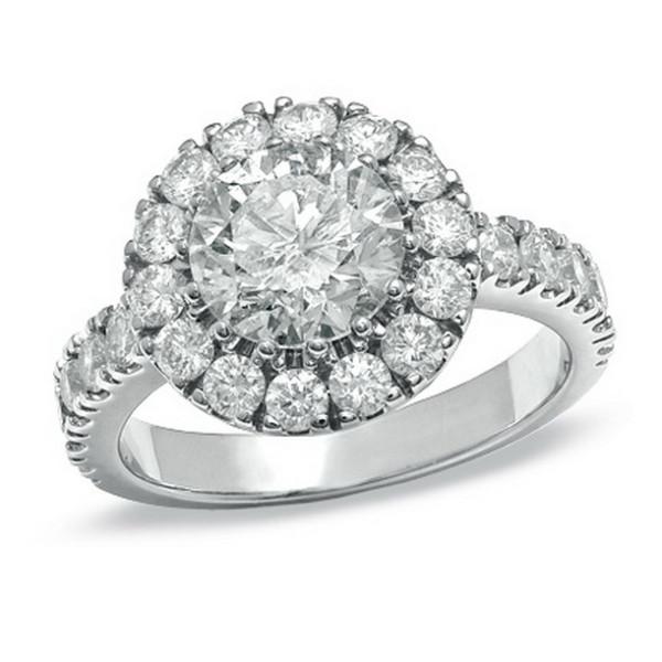 Кольцо Tiffany & Co белое золото, бриллианты