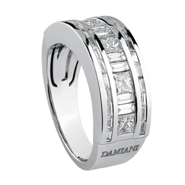 Кольцо Damiani Belle Epoque белое золото, бриллианты (20054728)