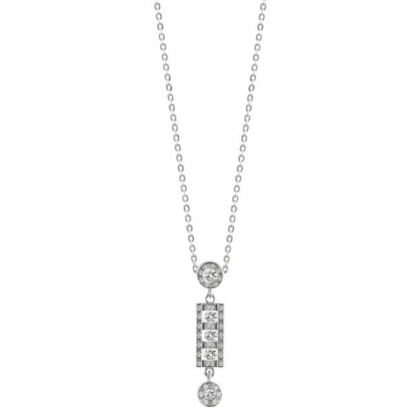 Ожерелье Damiani Belle Epoque белое золото, бриллианты (20056263)